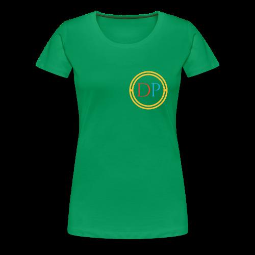 Tri-color logo T-shirt (Womens) - Women's Premium T-Shirt