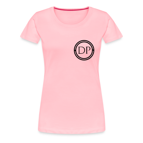 One-color logo T-shirt (Womens) - Women's Premium T-Shirt