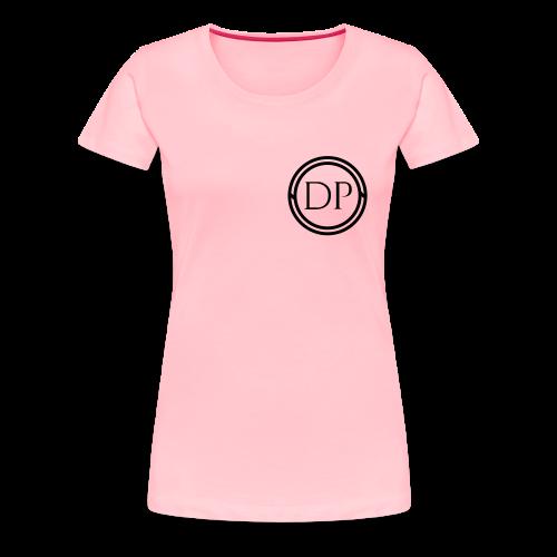 One-color logo T-shirt (Womens) - Women's Premium T-Shirt
