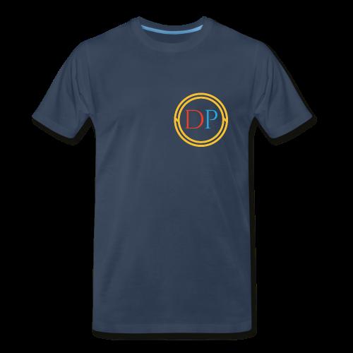 Tri-color logo T-shirt (Mens) - Men's Premium T-Shirt