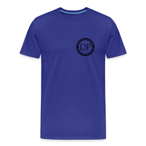 One-color logo T-shirt (Mens) - Men's Premium T-Shirt