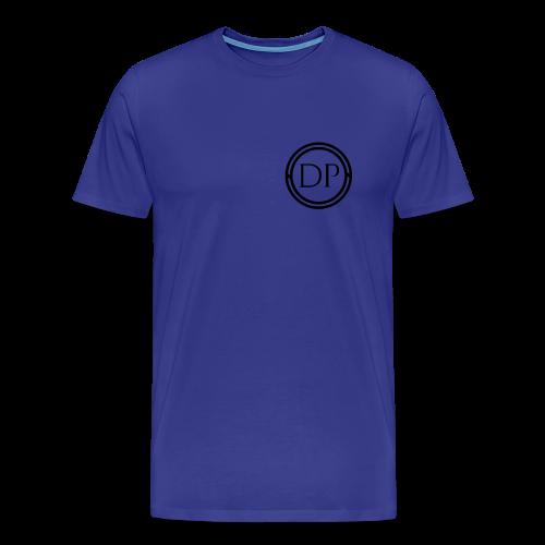 One-color logo T-shirt (Mens) - Men's Premium T-Shirt