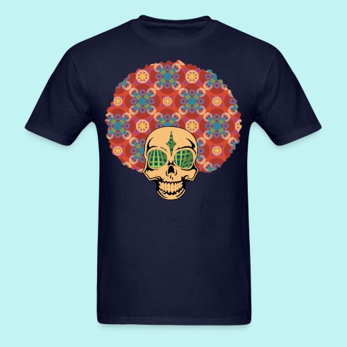 AFRO SKULLY - Men's T-Shirt