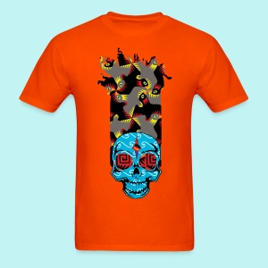 90s Kid Skully - Men's T-Shirt