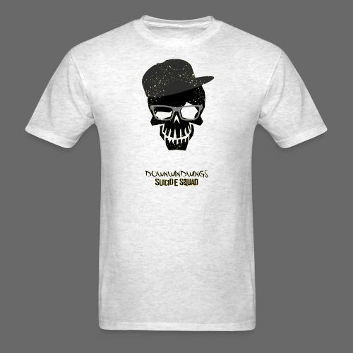 DownWindWings | Suicide Squad (White T-Shirt) - Men's T-Shirt