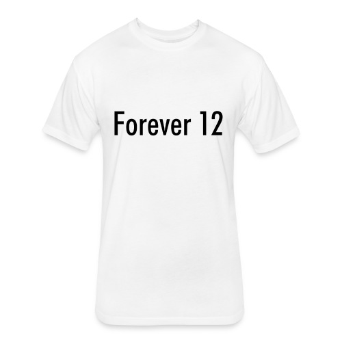 Unisex Forever 12 Fitted Cotton/Poly T-Shirt  - Fitted Cotton/Poly T-Shirt by Next Level