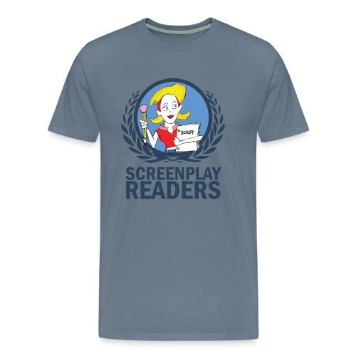 Screenplay Readers Men's Tee - Men's Premium T-Shirt