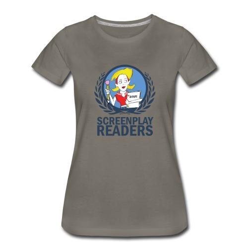 Screenplay Readers Women's Tee (Army) - Women's Premium T-Shirt