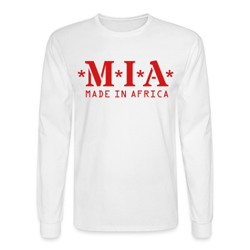 made in africa - Men's Long Sleeve T-Shirt
