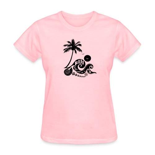 Fiji Tribal wave Women's T-Shirt - Women's T-Shirt
