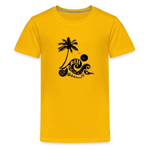 Fiji Tribal wave Kids' Premium T-Shirt - Kids' Premium T-Shirt