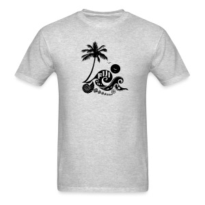 Fiji Tribal wave Men's T-Shirt - Men's T-Shirt