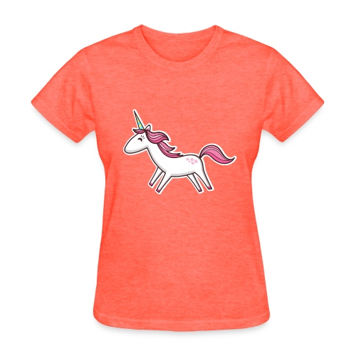 Happy Unicorn - Women's T-Shirt
