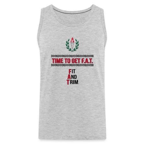 athletic slogan - Men's Premium Tank