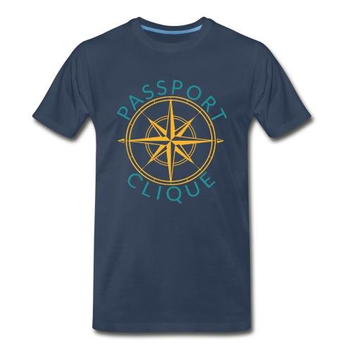 Men: Passport Clique Classic Tee - Men's Premium T-Shirt