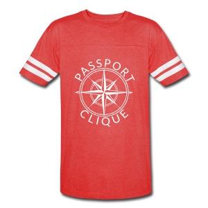 Unisex Red Tee - Vintage Sport T-Shirt