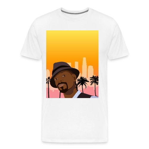 Snoop Illustration - Men's Premium T-Shirt