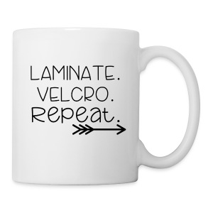 Laminate Velcro Repeat - Coffee/Tea Mug