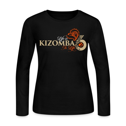Life is Kizomba - Women's Long Sleeve Jersey T-Shirt