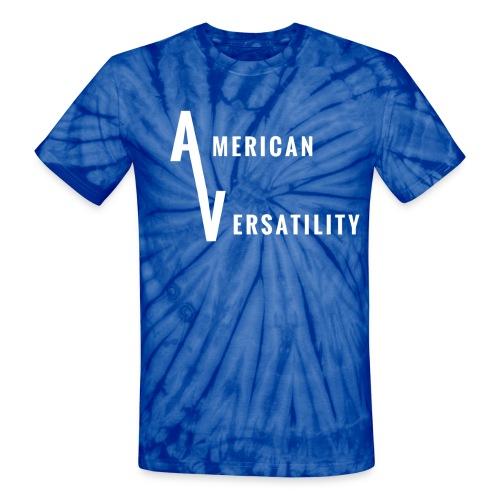 American Versatility Tie Dye shirt - Unisex Tie Dye T-Shirt