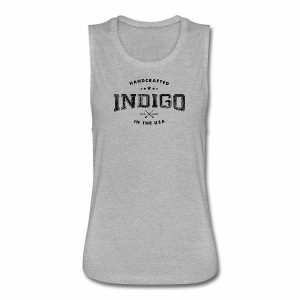 Indigo Vintage Collection - Women's Flowy Muscle Tank by Bella