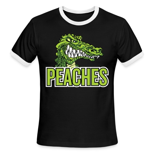 Peaches Sport Tshirt (Men's) - Men's Ringer T-Shirt