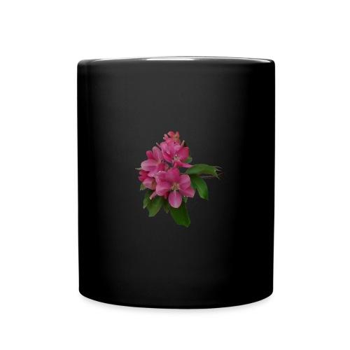 Crab Apple Blossom CoffeCup - Full Color Mug