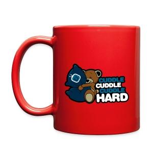 Cuddle Hard Coffee Mug  - Full Color Mug
