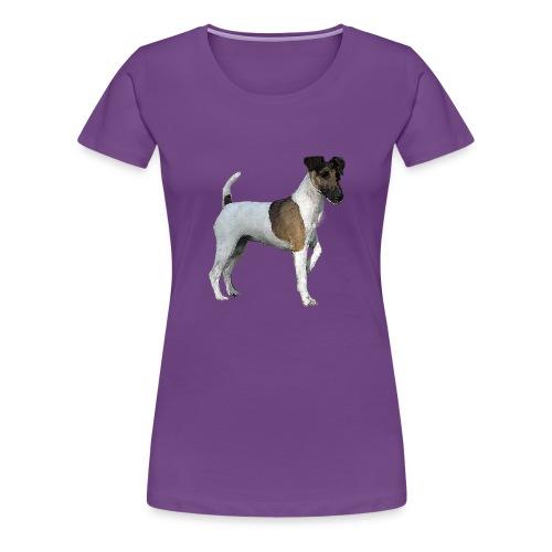 Smooth FoxTerrier WaterPaint W-T-shirt - Women's Premium T-Shirt