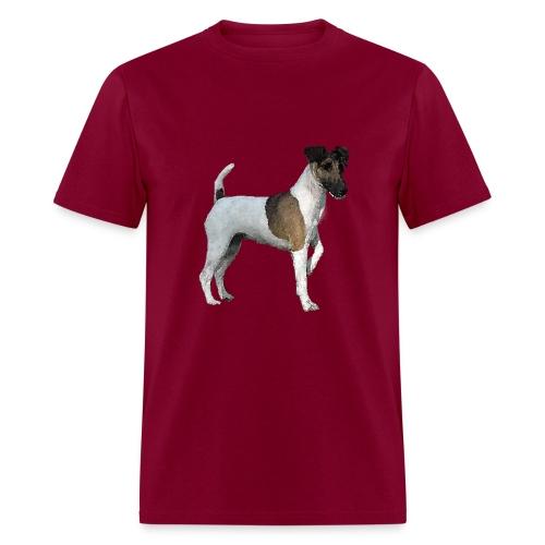 Smooth FoxTerrier WaterPaint M T-shirt - Men's T-Shirt