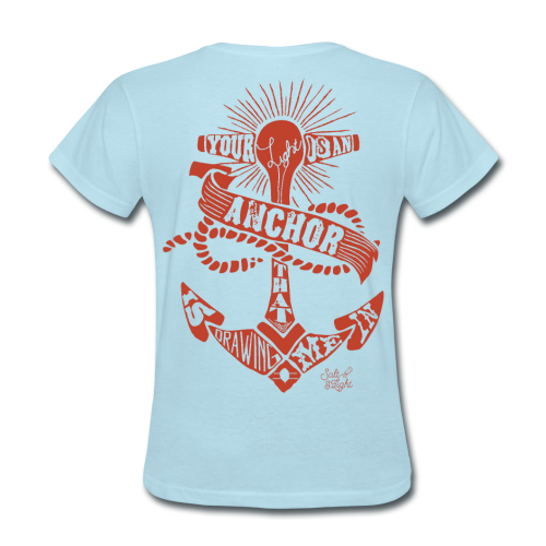 Salt Light (Surf) - Women's T-Shirt
