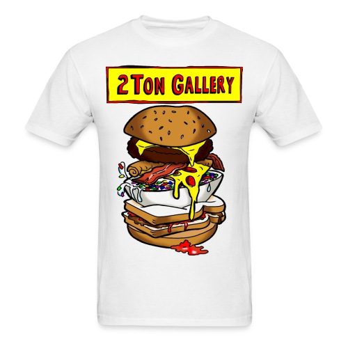 Bob's 2Ton Burger Shirt - Men's T-Shirt
