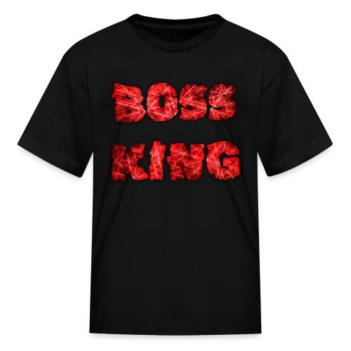 Kids Boss King Shirt - Kids' T-Shirt