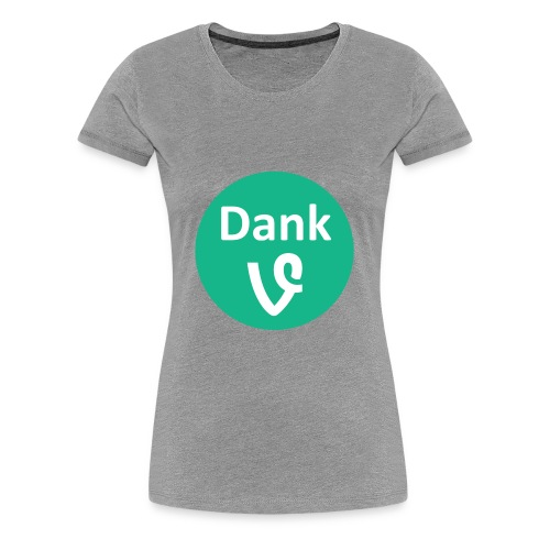 Dank Vines Logo - T-Shirt - Womens - Women's Premium T-Shirt