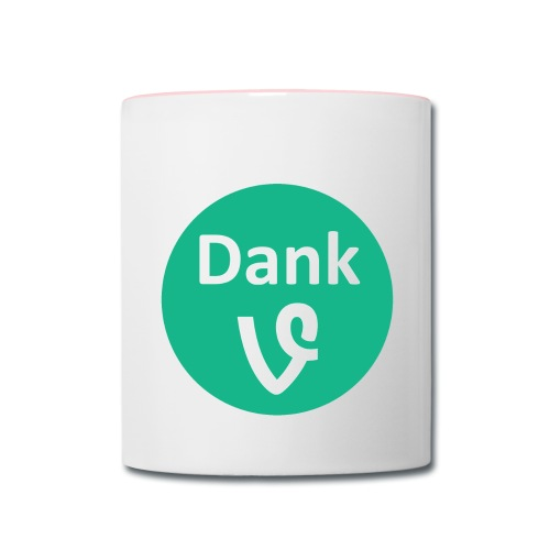 Dank Vines Logo - Mug - Contrast Coffee Mug