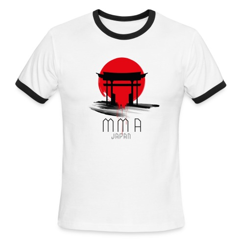 MMA JAPAN - Men's Ringer T-Shirt