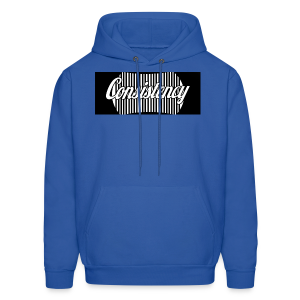 Consistency Blue Hoodie - Men's Hoodie