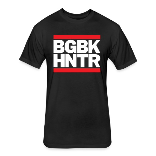 *PREMIUM* BGBK HNTR - Fitted Cotton/Poly T-Shirt by Next Level
