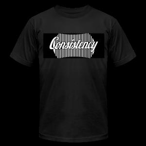 Consistency Black Shirt  - Men's Fine Jersey T-Shirt