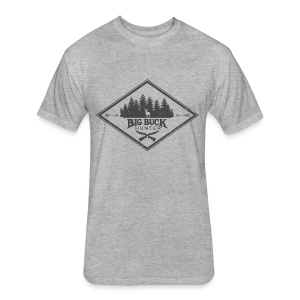 *PREMIUM* Hipster Big Buck - Fitted Cotton/Poly T-Shirt by Next Level
