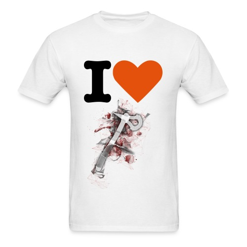 Camiseta de I Love Tomahawk - Men's T-Shirt