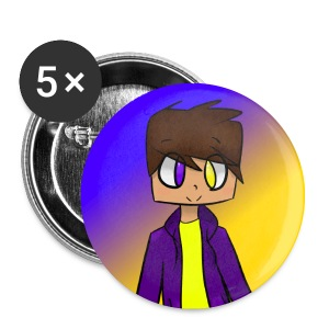 Anime Chris Games Small Buttons - Small Buttons