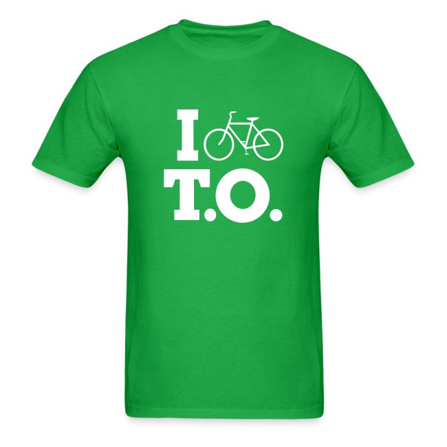 Men - I Bike T.O. - Green