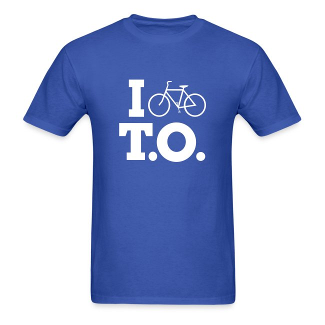 Men - I Bike T.O. - Blue