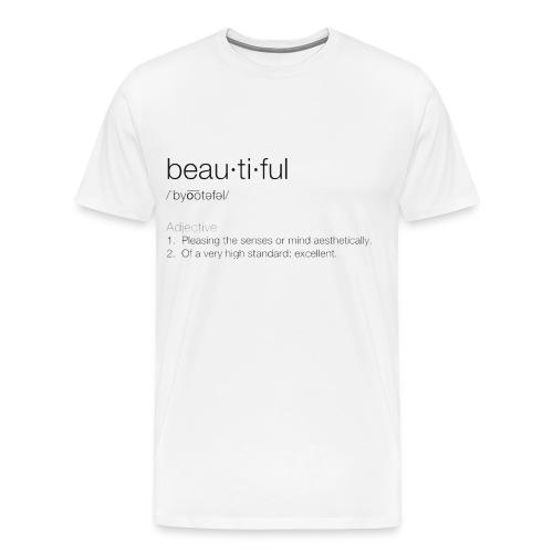 Mens Beautiful hoodie - Men's Premium T-Shirt