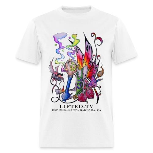 Nano Bit LiftedTv Tattoo Organic Women's Tee BF - Men's T-Shirt