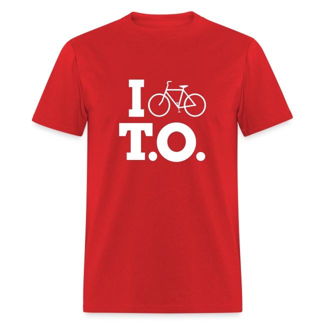 Men - I Bike T.O. - Red
