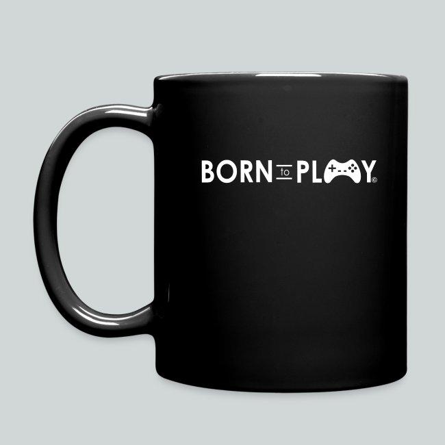 Born to Play Mug! by @GamefulHeroes