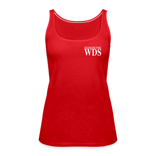 WDS Lines (white) - Women's Tank (more colors available) - Women's Premium Tank Top