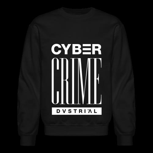 CYBERCRIME 99 BLACK CREWNECK SWEATSHIRT - Crewneck Sweatshirt